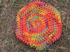 worth a knit: Spring Break Frisbee