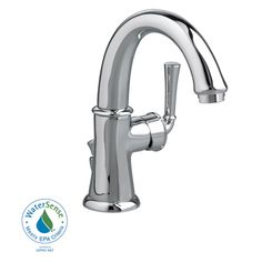 American Standard Portsmouth Single Hole Bathroom Faucet with Single Handle Kinda cool to have handle on the side
