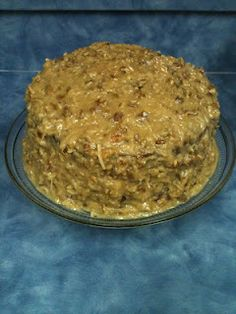 The BEST German Chocolate Cake EVER