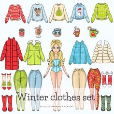 Paper Doll Costume, Barbie Paper Dolls, Paper Dolls Book, Vintage Paper Dolls, Paper Toys, Preschool Charts, Paper Dolls Clothing, Doll Drawing, 2d Game Art