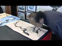 Guilin, Guangxi, blow painting - China Travel Channel - YouTube