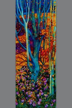 Glass art Videos Artists - Broken Glass art Abstract - - Tiffany Glass art Lamp Shades - - Broken Glass art How To Make Art Amour, Inspiration Art, Wow Art, Stained Glass Art, Art Design, Tree Art, Mosaic Art, Fiber Art, Amazing Art