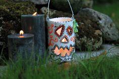 #handmade #ceramic #candleholder for #halloween #bottegakrua #pumpkin for orders bottegakrua@gmail.com