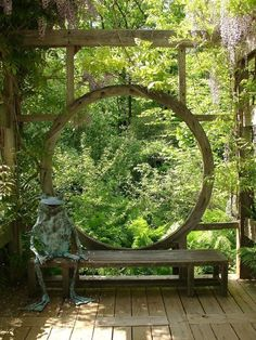 Best Heavenly Moon Gate Ideas for Your Garden (40 Pictures) design https://pistoncars.com/best-heavenly-moon-gate-ideas-garden-40-pictures-12546 #japanesegardens