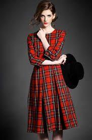 Image result for tartan dresses
