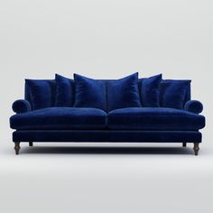 Canapé Wallace 3 places - The Conran Shop Built In Couch, Sofa Shop, Luxury Sofa, 3 Seater Sofa, Furniture Collection, Contemporary Design, Living Room Designs, Decor Styles, Upholstery