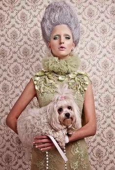 Furne One - Marie Antoinette like a geisha