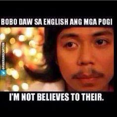 W Memes Pinoy, Filipino Memes, Filipino Funny, Jokes Quotes, Me Quotes, Funny Quotes, Memes Humor, Funny Menes, Tagalog Quotes Hugot Funny