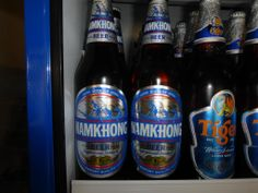 We serve Namkhong Beer instead of Beerlao as we think, and many more agree, it beats it hands down for flavour.