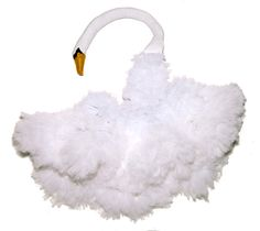 Halloween DIY: Bjork Swan Costume