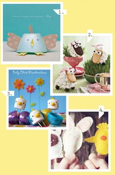 DIY Easter Projects with the kiddos