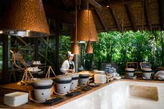 Six Senses Yao Noi dining options include organic European cuisine, authentic Thai, even fresh pizza.