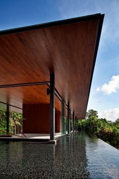 Outside The Water-Cooled House By Wallflower Architecture + Design