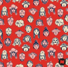 """Bali faces"" by Natália Sicsú"