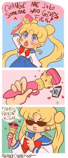 Sailor Moon fan-comic                                                                                                                                                                                 More