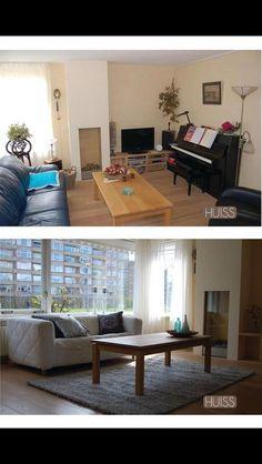Voor & na restyling Gravenweg 22 Alkmaar. 4 jaar te koop, na restyling binnen 3 weken verkocht.