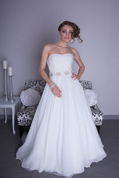 Angel Rivera - Chloe. Available at Bridal Reflections.