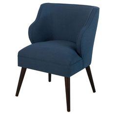 Mid Century Accent Chair - Ocean Navy - Threshold™