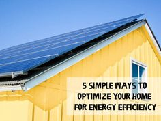 5 Ways to Make Your Home More #EnergyEfficient | Home Decor Expert — Find Home Improvement & Decorating Ideas