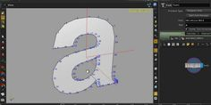 Animating the Profiles of Texts in SideFX Houdini