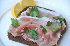 Ham sandwich - Broodje rauwe ham