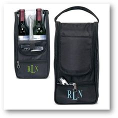 Wine Tote Bag Accessory with FREE Monogram
