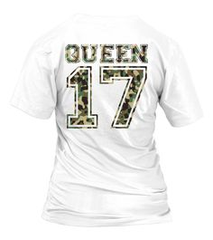 05fcff43 Queen 17 Camouflage Partnershirt Liebe Love Valentine Partnerlook Partner