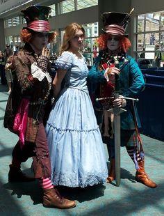 alice+in+wonderland+cosplay | Alice in Wonderland cosplay, SDCC 2013