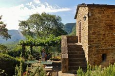 It all started with the great Italian amorous past-time of a young couple looking for a place in the countryside..