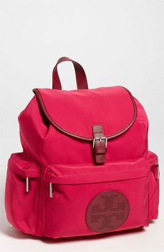 6bc4bbc0e2d Tory Burch  Billie  Backpack I Believe In Pink