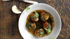 Resepti: Paistettuja kampasimpukoita ja chili-korianterivoita