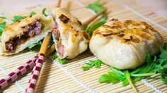 Oyakis porc & poireau, le retour du japon dans ma cuisine Asian Recipes, Ethnic Recipes, Life Savers, Fresh Rolls, Baked Potato, Camembert Cheese, Sushi, Meals, Yummy Yummy