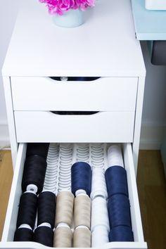 Ordnung im Nähzimmer - Tweed & Greet