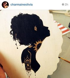 Charmaine Olivia - another beautiful silhouette