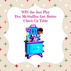 Doc McStuffins Get Better Check Up Table GIVEAWAY at The Naughty Mommy @The Naughty Mommy