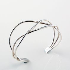 you need one. only one bracelet that goes with everything. this is it. Waves Cuff. #studiojeweldotcom