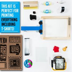 DIY Print Shop T-Shirt Kit - I made one of these once...probably cost me much more than $250 to do so as well.