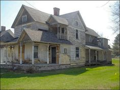 I   -This is a decaying Victorian home in Manton, Michigan.