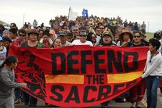 Showdown over oil pipeline becomes a national movement for Native Americans