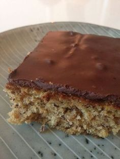 Danish Dessert, Danish Food, Yummy Treats, Sweet Treats, Yummy Food, Sweets Cake, Cupcake Cakes, Baking Recipes, Cake Recipes