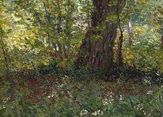 Vincent van Gogh - Undergrowth, 1887