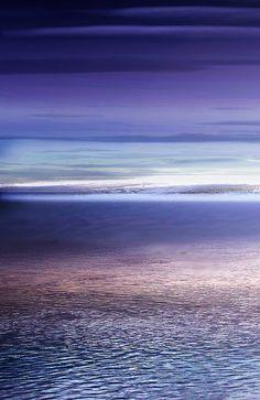 Ocean Purple Sunset