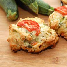 Sweet Pea's Kitchen » Garden Zucchini Parmesan Biscuits