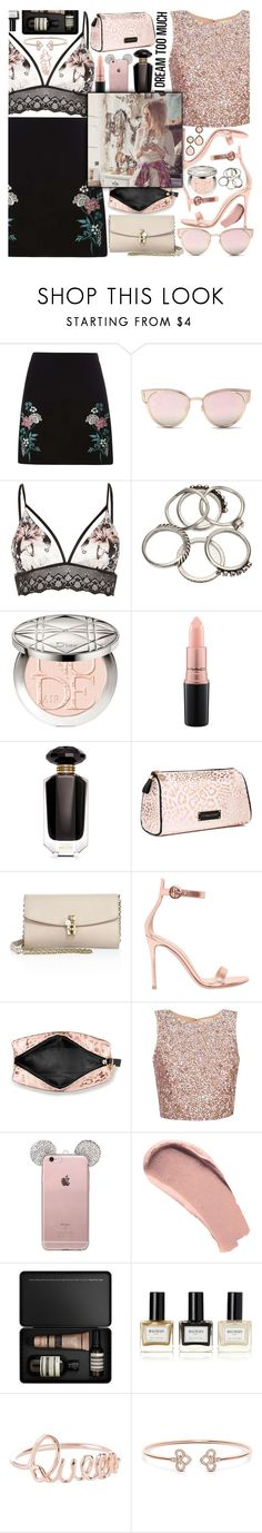 """""""♡ You can never go wrong with a little pink... a lot words too! ♡"""" by xcuteniallx ❤ liked on Polyvore featuring Dorothy Perkins, LMNT, River Island, Christian Dior, MAC Cosmetics, Victoria's Secret, Dolce&Gabbana, Gianvito Rossi, Burberry and Aesop"""