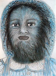 Kiki Smith, Wolf Girl.