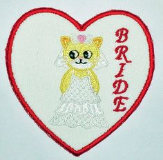 BRIDE CAT PATCH