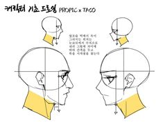 I don't do anime style but this is helpful because I can't draw heads. Body Reference Drawing, Body Drawing, Anatomy Reference, Drawing Skills, Art Reference Poses, Drawing Poses, Drawing Tips, Figure Drawing, Anatomy Sketches