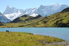 Bachalpsee im Sommer Grindelwald, Volcano, To Go, Hiking, Mountains, World, Nature, Travel, Outdoor