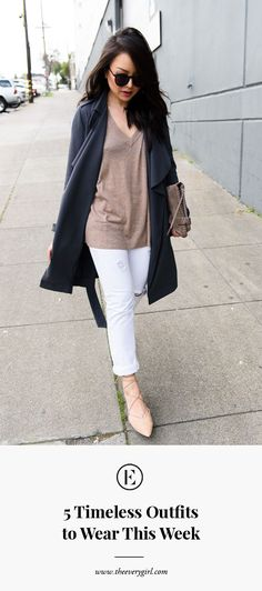 5 Timeless Outfits to Wear This Week | The Everygirl