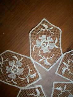 Antique doily wedding or tabletop 1920s by ToLacewithLove on Etsy